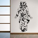 Vinyl Decal Wall Sticker Dragon Ball Z Broly Anime Japanese Cartoon Art