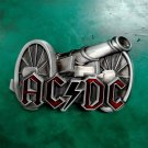 1 Pcs 3D Cannon ACDC Rock Music Luxury Cowboy Belt Buckle For Mens Jeans Western Belt Head