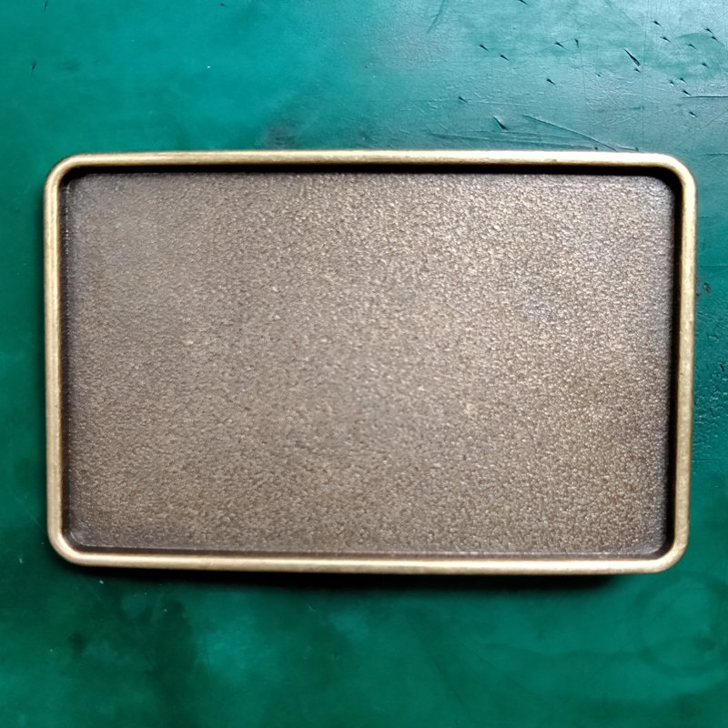 1 Pcs Bronze Blank Diy Cowboy Belt Buckle For Men Women Western Cowgirl Belt Head