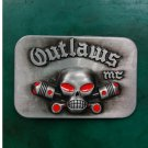 1 Pcs Outlaws Western Cowboy Metal Belt Buckle For Men