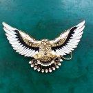 1 Pcs Golden Eagle Western Cowboy Metal Belt Buckle For Men