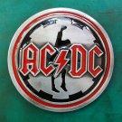 1 Pcs ACDC Music Luxury Brand Men's Western Cowboy Belt Buckle Fit For 4cm Width Belts