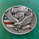 1 Pcs American Pride Luxury Brand Men's Western Cowboy Belt Buckle Fit For 4cm Width Belts