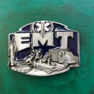 1 Pcs Emergency Medical Technician EMT Luxury Brand Men's Western Cowboy Belt Buckle