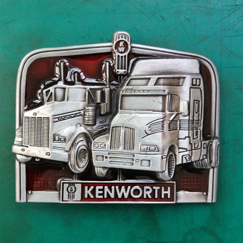 1 Pcs Kenworth Truck Luxury Brand Men's Western Cowboy Belt Buckle Fit For 4cm Width Belts