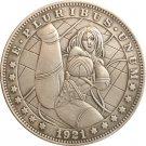 Hobo Nickel 1921-D USA Morgan Dollar COIN COPY Type 93