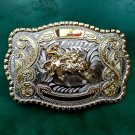 1 Pcs Big Size Silver Gold Rodeo Bull Cowboy Metal Belt Buckle For Men's Jeans Belt Head