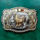 1 Pcs Big Size Lace Gold Chicken Cowboy Metal Belt Buckle For Men's Jeans Belt Head