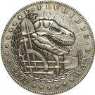 Hobo Nickel 1893-S USA Morgan Dollar and COINS COPY