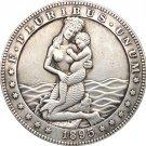 Hobo Nickel 1895 USA Morgan Dollar COIN COPY Type 87