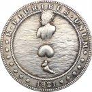 Hobo Nickel 1921-D USA Morgan Dollar COIN COPY Type 84