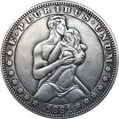 Hobo Nickel 1881-CC USA Morgan Dollar COIN COPY Type 98