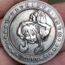 1900-CC Hobo Nickel USA Morgan Dollar COIN COPY