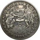 Hobo Nickel 1895-O USA Morgan Dollar COIN COPY Type 111
