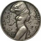 Hobo Nickel 1937-D 3-LEGGED BUFFALO NICKEL COIN COPY Type 67