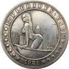 Hobo Nickel 1921-D USA Morgan Dollar COIN COPY Type 127