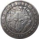 Hobo Nickel 1921-D USA Morgan Dollar COIN COPY Type 119