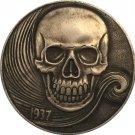 Hobo Nickel 1937-D 3-LEGGED BUFFALO NICKEL COIN COPY Type 8
