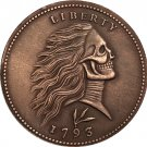 Hobo Nickel 1793 ONE CENT COIN COPY