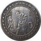 Hobo Nickel 1921-D USA Morgan Dollar COIN COPY Type 124