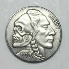Hobo Nickel 1937-D 3-LEGGED BUFFALO NICKEL COIN COPY