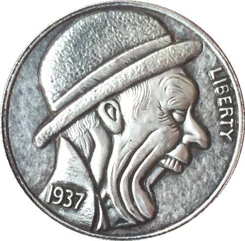 Hobo Nickel 1937-D 3-LEGGED BUFFALO NICKEL COIN COPY Type 48