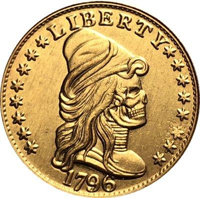 Hobo Nickel 1796 COIN COPY
