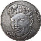 Hobo Nickel 1935 USA Morgan Dollar COIN COPY Type 125