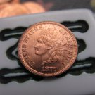 1877 Indian head cents coin copy 100% coper
