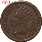 1860 Indian head cents coin copy