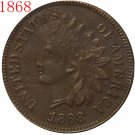 1868 Indian head cents coin copy