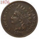 1876 Indian head cents coin copy