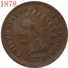 1878 Indian head cents coin copy