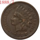1888/7 Indian head cents coin copy