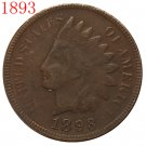 1893 Indian head cents coin copy