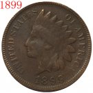 1899 Indian head cents coin copy
