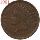 1901 Indian head cents coin copy