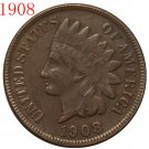 1908 Indian head cents coin copy