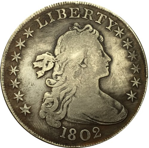 1802 Draped Bust Dollar COIN COPY
