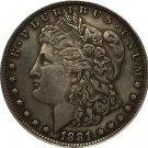 1881 USA Morgan Dollar coins COPY