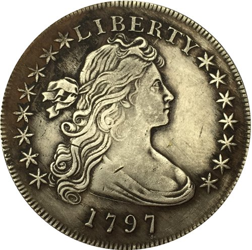 1797 Draped Bust Dollar COIN COPY