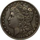 1890 USA Morgan Dollar coins COPY