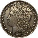 1896 USA Morgan Dollar coins COPY