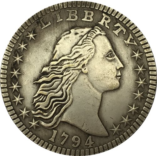 1794 type2 Flowing Hair Dollar COIN COPY