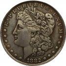1882 USA Morgan Dollar coins COPY