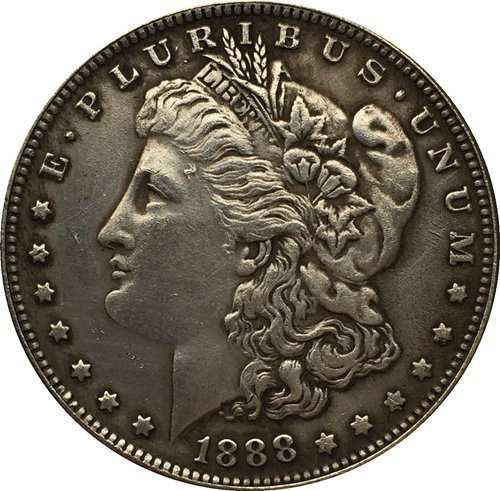 1888 USA Morgan Dollar coins COPY