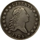 1794 Draped Bust Half Dollar COIN COPY