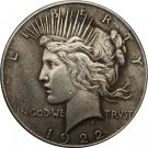 1922-P Peace Dollar COIN COPY