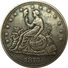 1873 Trade Dollar coins copy
