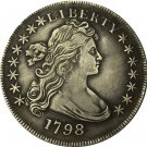 1798 type2 Draped Bust Dollar COIN COPY
